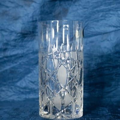 Krištálové brúsené poháre 380 ml set 6 kusov