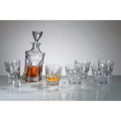 Set Aca Whisky 1 + 6 pohárov