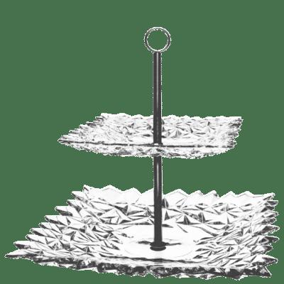 Miska Gla two tier plate 30,5 cm