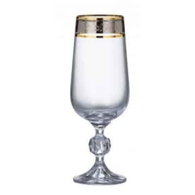 Poháre Klaud Dekor Glass 180 ml set 6 kusov