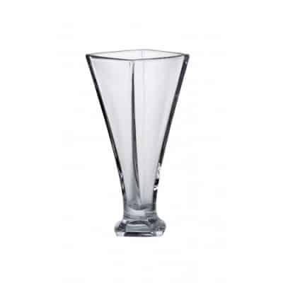 Krištáľová váza Quad Vase 28 cm