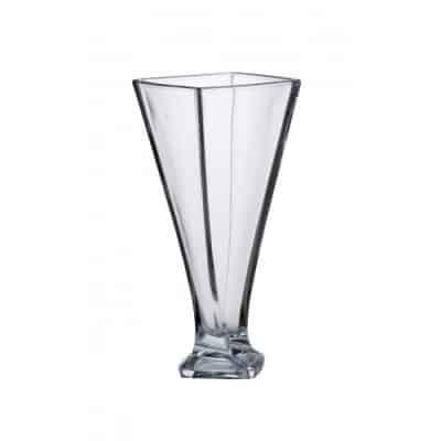 Krištáľová váza Quad Vase 33 cm