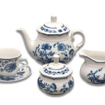 Čajová súprava pre 6 osôb Cibulák