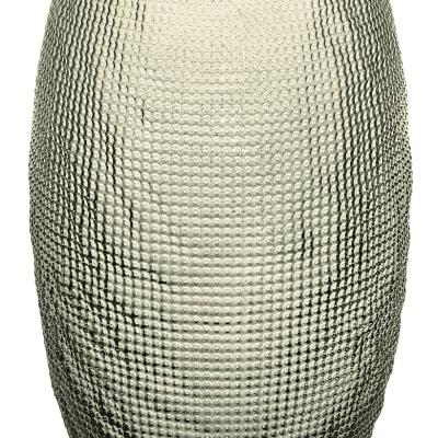 Váza DIAMAN béžová H29 cm D17,5 cm