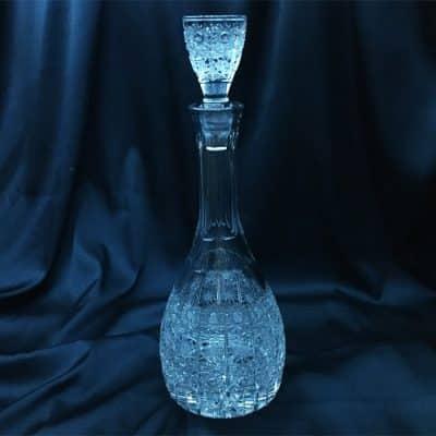 Krištáľová brúsená fľaša 1000 ml