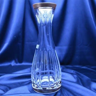 Krištáľová brúsená flaša dekandér 800 ml