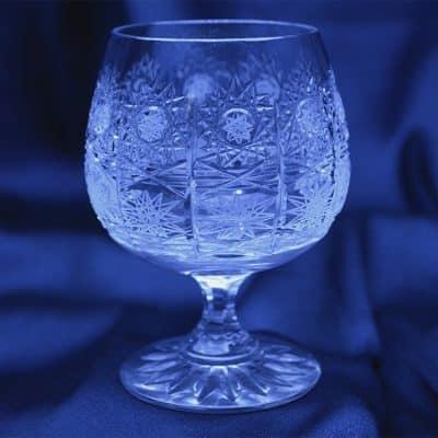 Krištálové brúsené poháre 170 ml set 6 kusov