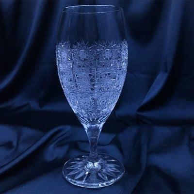 Krištálové brúsené poháre 160 ml set 6 kusov