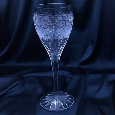 Krištálové brúsené poháre 260 ml set 6 kusov