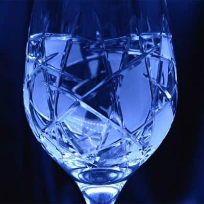Krištálové brúsené poháre 350 ml set 6 kusov