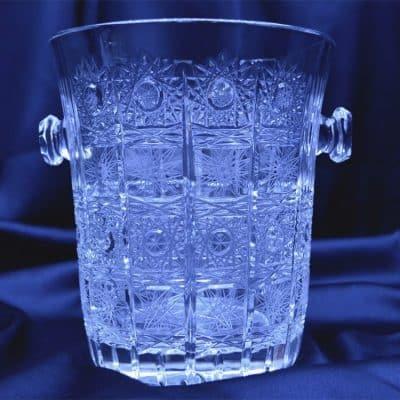 Krištáľová nádoba na ľad 16 cm