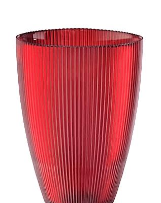 Váza BURA červená H24